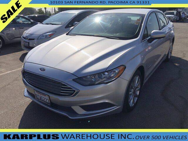 2017 Ford Fusion Hybrid for sale in Pacoima, CA