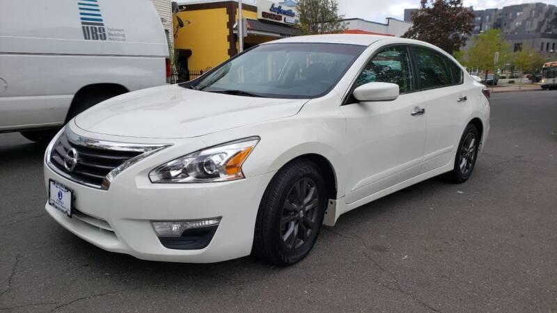 2015 Nissan Altima for sale at JOANKA AUTO SALES in Newark NJ