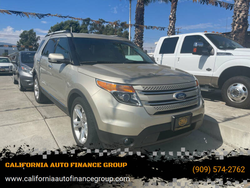 2011 Ford Explorer for sale at CALIFORNIA AUTO FINANCE GROUP in Fontana CA