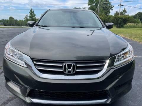 2014 Honda Accord for sale at SHAN MOTORS, INC. in Thomasville NC