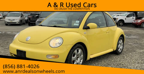 2002 Volkswagen New Beetle for sale at A & R Used Cars in Clayton NJ