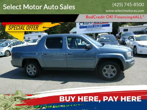 2007 Honda Ridgeline for sale at Select Motor Auto Sales in Lynnwood WA