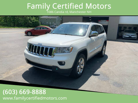 2011 Jeep Grand Cherokee for sale at Family Certified Motors in Manchester NH