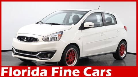 2019 Mitsubishi Mirage for sale at Florida Fine Cars - West Palm Beach in West Palm Beach FL