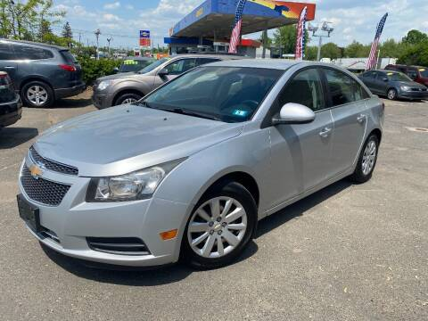 2011 Chevrolet Cruze for sale at East Windsor Auto in East Windsor CT