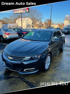2018 Chevrolet Impala for sale at Dream Auto Sales in South Milwaukee WI