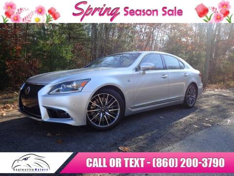 2013 Lexus LS 460 for sale at EAGLEVILLE MOTORS LLC in Storrs CT
