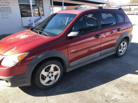 2007 Pontiac Vibe for sale at Kann Enterprises Inc. in Lovington NM