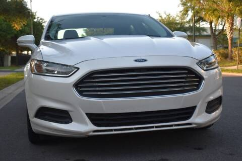 2016 Ford Fusion Hybrid for sale at Monaco Motor Group in Orlando FL