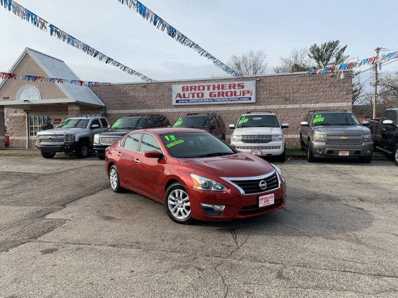 2013 Nissan Altima for sale at Brothers Auto Group in Youngstown OH