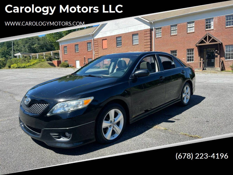 2011 Toyota Camry for sale at Carology Motors LLC in Marietta GA