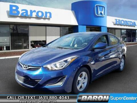 2015 Hyundai Elantra for sale at Baron Super Center in Patchogue NY