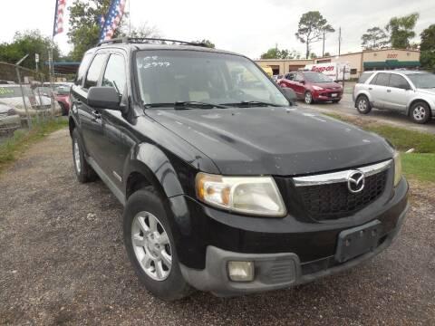 2008 Mazda Tribute for sale at SCOTT HARRISON MOTOR CO in Houston TX