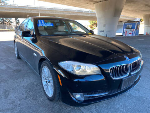 2011 BMW 5 Series for sale at Bay Auto Exchange in San Jose CA