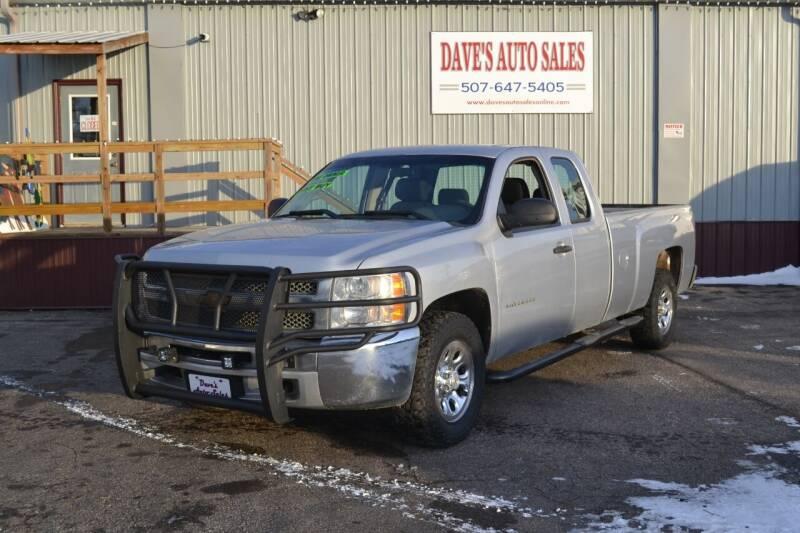2013 Chevrolet Silverado 1500 for sale at Dave's Auto Sales in Winthrop MN