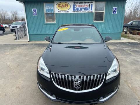 2016 Buick Regal for sale at E & H Auto Sales in South Haven MI