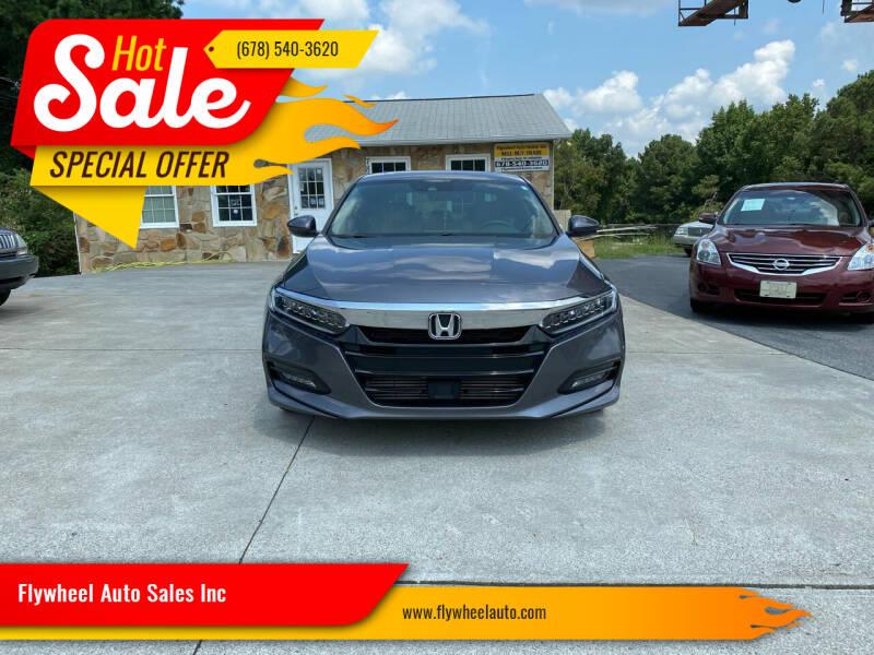 2018 Honda Accord for sale at Flywheel Auto Sales Inc in Woodstock GA
