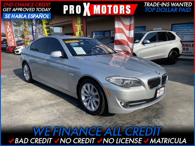 2011 BMW 5 Series for sale in South Gate, CA