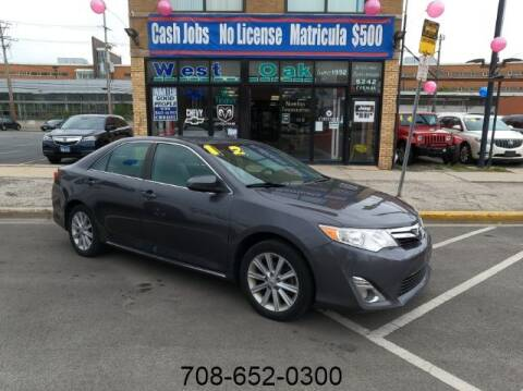 2012 Toyota Camry for sale at West Oak in Chicago IL