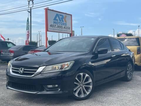 2015 Honda Accord for sale at Ark Motors LLC in Orlando FL