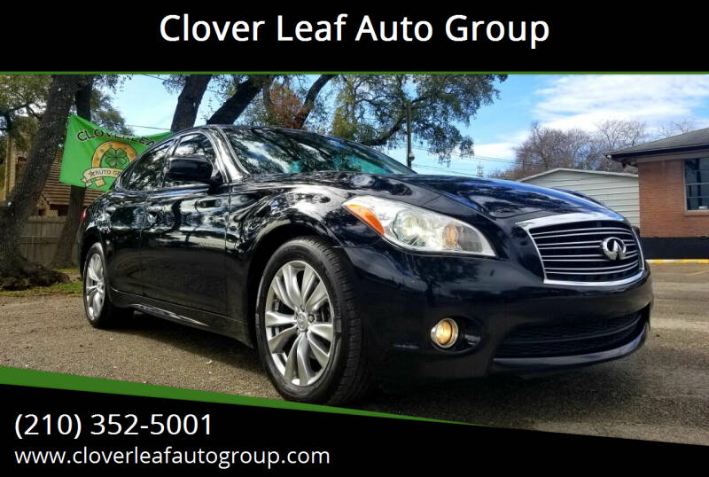 2013 Infiniti M37 for sale at Clover Leaf Auto Group in San Antonio TX
