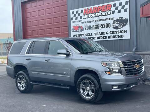 2019 Chevrolet Tahoe for sale at Harper Motorsports-Vehicles in Post Falls ID