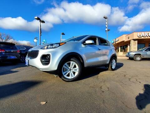 2017 Kia Sportage for sale at Lakeside Auto Brokers Inc. in Colorado Springs CO
