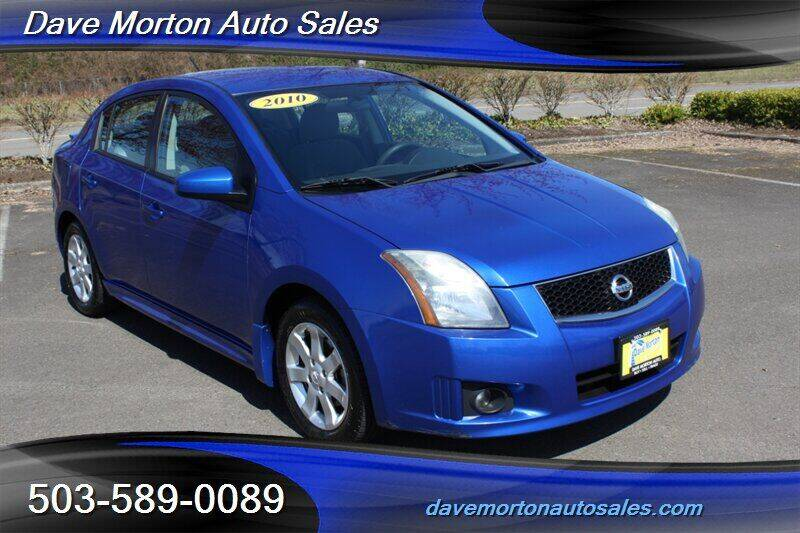 2010 Nissan Sentra for sale at Dave Morton Auto Sales in Salem OR
