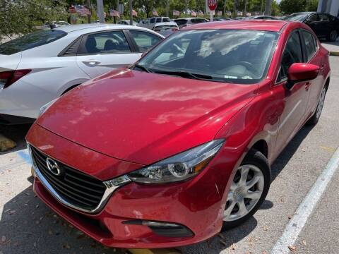 2018 Mazda MAZDA3 for sale at DORAL HYUNDAI in Doral FL
