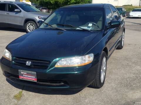 1999 Honda Accord for sale at Import Performance Sales - Henderson in Henderson NC