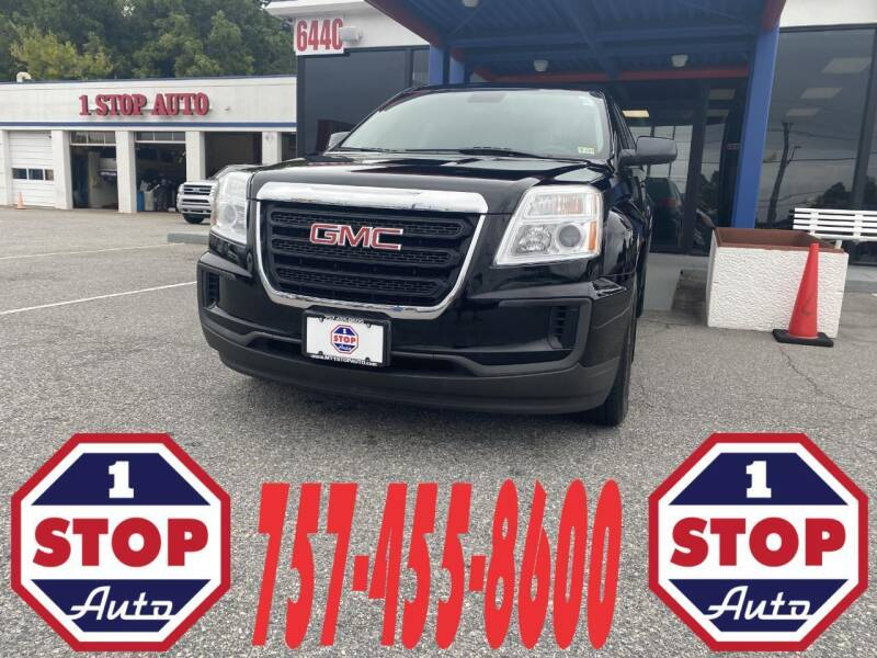 2016 GMC Terrain for sale at 1 Stop Auto in Norfolk VA