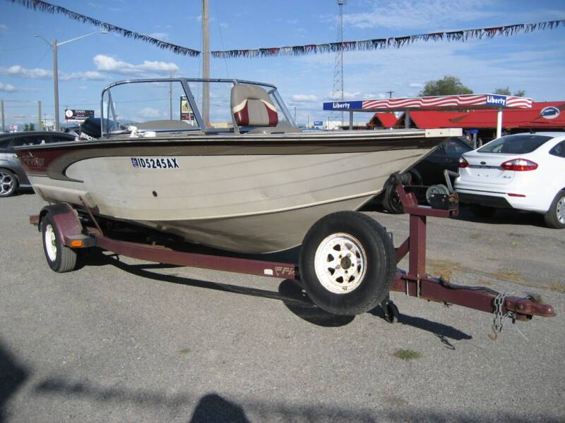 2000 Fisher Hawk 186 for sale at Stateline Auto Sales in Post Falls ID