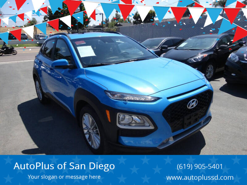 2019 Hyundai Kona for sale at AutoPlus of San Diego in Spring Valley CA