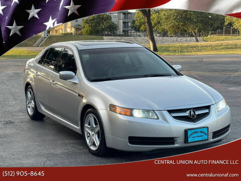 2006 Acura TL for sale at Central Union Auto Finance LLC in Austin TX