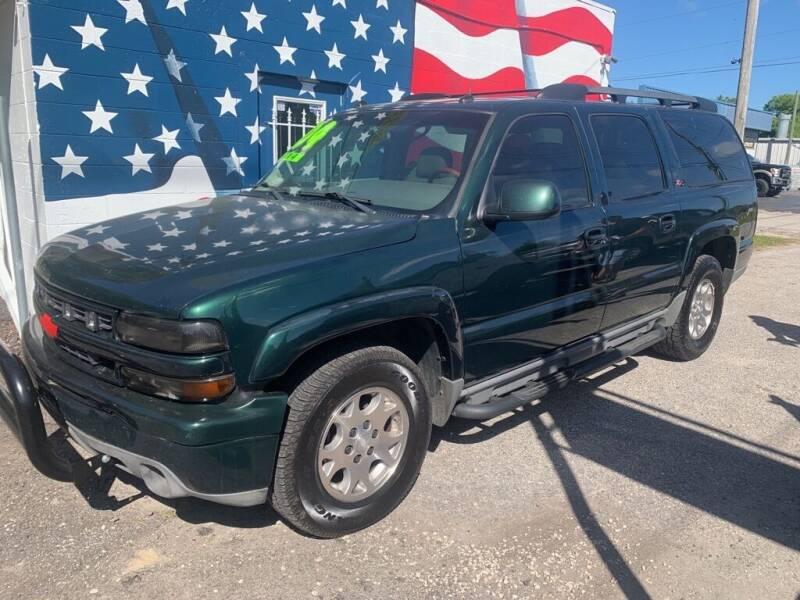 2004 Chevrolet Suburban for sale at The Truck Lot LLC in Lakeland FL