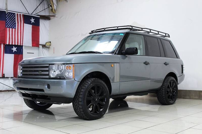 2003 Land Rover Range Rover for sale at ROADSTERS AUTO in Houston TX