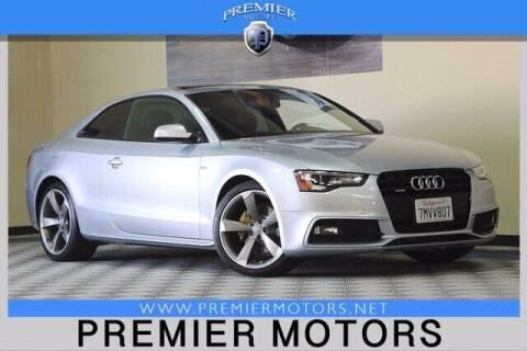 2015 Audi A5 for sale at Premier Motors in Hayward CA