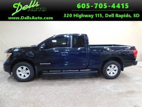 2017 Nissan Titan for sale at Dells Auto in Dell Rapids SD