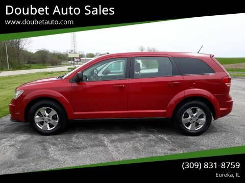 2013 Dodge Journey for sale at Doubet Auto Sales in Eureka IL