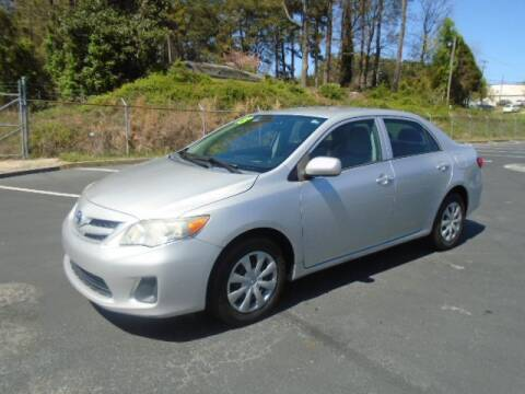 2013 Toyota Corolla for sale at Atlanta Auto Max in Norcross GA