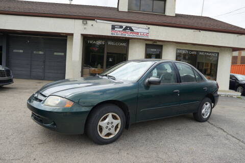 2003 Chevrolet Cavalier for sale at PA Motorcars in Conshohocken PA