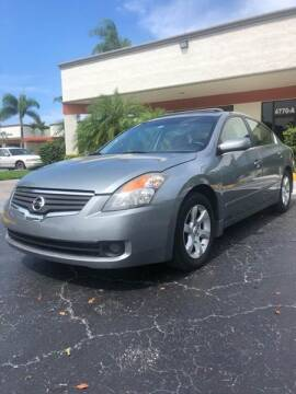 2007 Nissan Altima for sale at GERMANY TECH in Boca Raton FL