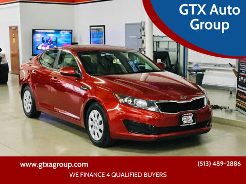 2011 Kia Optima for sale at GTX Auto Group in West Chester OH