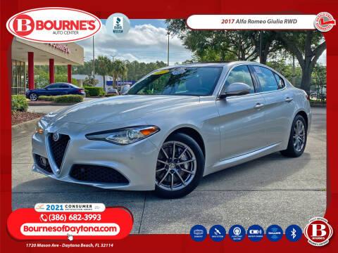 2017 Alfa Romeo Giulia for sale at Bourne's Auto Center in Daytona Beach FL