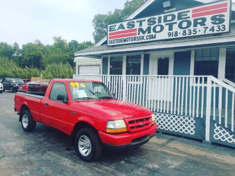 1999 Ford Ranger for sale at EASTSIDE MOTORS in Tulsa OK