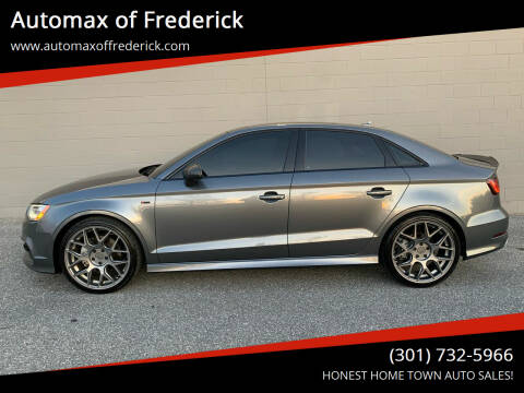 2016 Audi A3 for sale at Automax of Frederick in Frederick MD