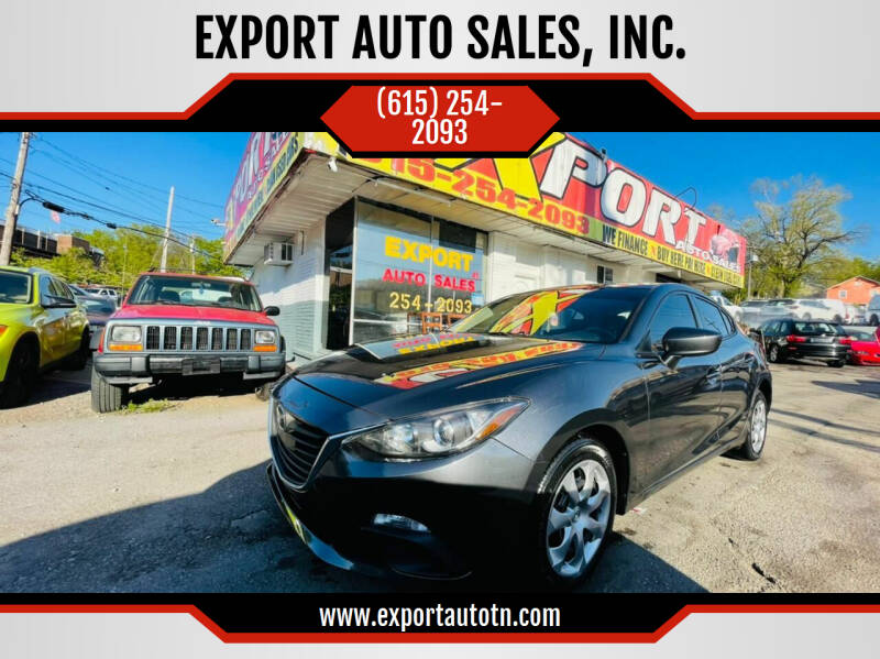 2016 Mazda MAZDA3 for sale at EXPORT AUTO SALES, INC. in Nashville TN