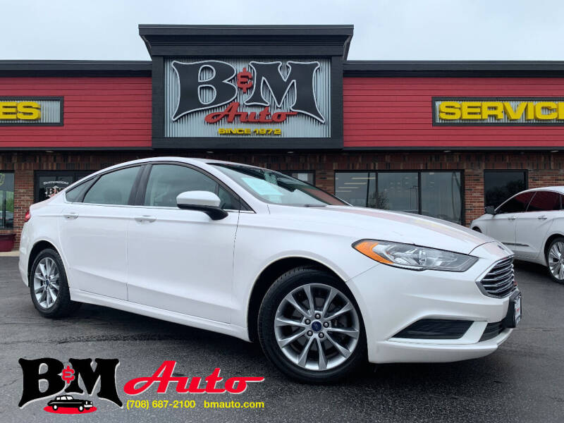 2017 Ford Fusion for sale at B & M Auto Sales Inc. in Oak Forest IL