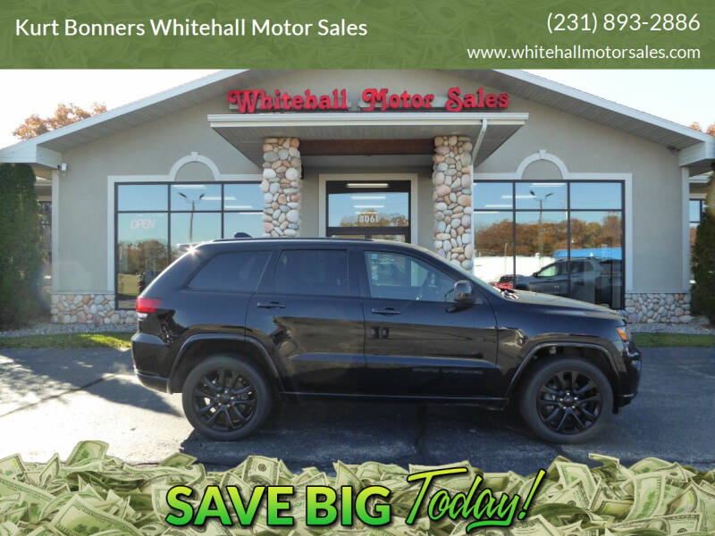 2018 Jeep Grand Cherokee for sale at Kurt Bonners Whitehall Motor Sales in Whitehall MI