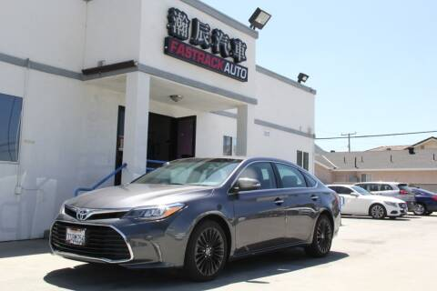 2016 Toyota Avalon for sale at Fastrack Auto Inc in Rosemead CA